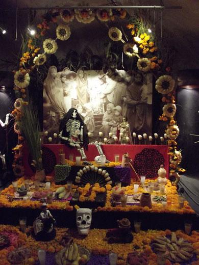 Geschmückter Altar