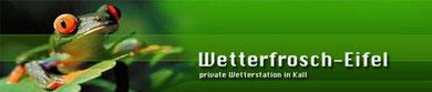 Wetterfrosch Eifel - private Wetterstation in Kall (z.Zt. nicht aktiv)