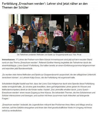 Land und Leute, 28.9.2011
