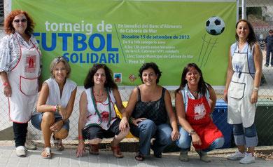 Cabrera Solidària amb la Neus Sola, Regidora de Servei a les Persones