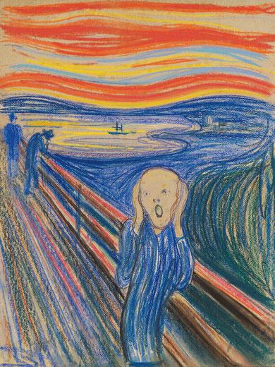 Крик - Эдвард Мунк. Самые известные картины в мире