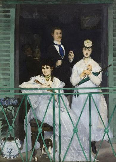 Балкон - знаменитые картины Эдуарда Мане