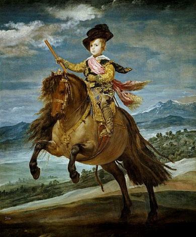 Самые известные картины Веласкеса - Конный портрет принца Бальтазара Карлоса