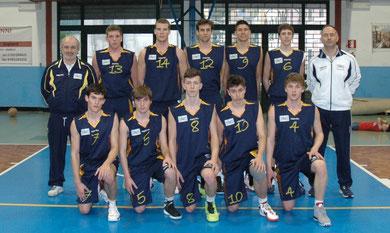 La formazione dell'Under19 presente al torneo