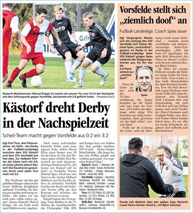 Quelle: Aller-Zeitung, 31. Oktober 2011