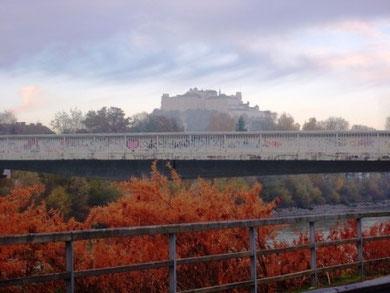 Morgentlicher Blick auf die Festung