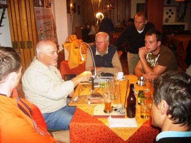 Am Tisch mit Franz Xaver O.