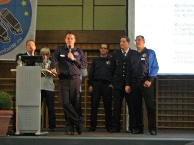 vlnr: Lars Seeger, Thomas Zöller, Adrian Ridder, Ingo Horn,  Lars Lorenzen, Dietmar Kuhn