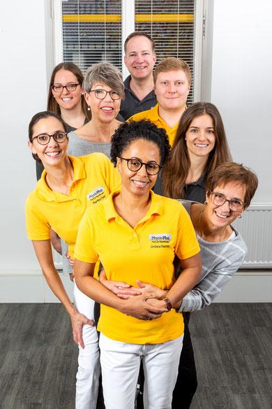 Das Team von PhysioPlus Stuttgart