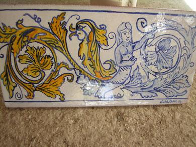 CERAMICA MAIOLICA listelli in ceramica