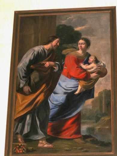 """""""Fuite en Egypte"""" Eglise de Fontvanne"""