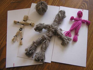 les poupées en fil