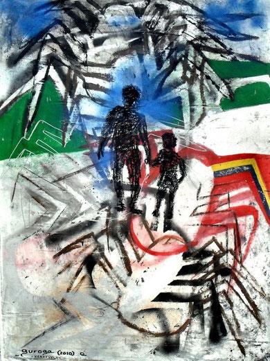 """Guiondepiso Guroga (Venezuela)and Zago-""""Quella carezza della sera"""" 2010 for Z&YF"""