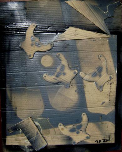 Incursioni spaziali-cm 60x50 luglio 2012