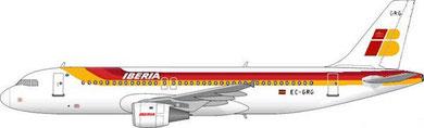 Airbus A320-200 der Iberia/Courtesy: MD-80.com