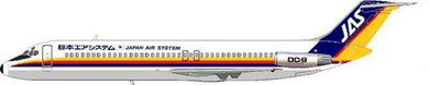 Douglas DC-9Srs41 der JAS - Japan Air System/Courtesy: MD-80.com