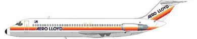 Douglas DC-9-32 der Aero Lloyd/Courtesy: MD-80.com