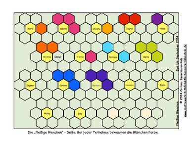 Klick drauf, und finde die Bienchen