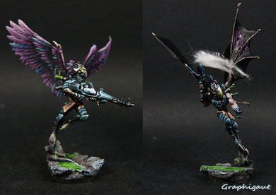 Fléaux Eldar Noir, Games Workshop, par Graphigaut