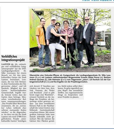 Laatzener Woche v. 30.04.2014