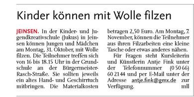 Leine-Nachrichten v. 08.10.2011