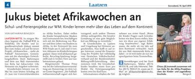 Leine-Nachrichten v. 10.04.2010