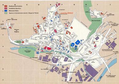 Plan de Montataire