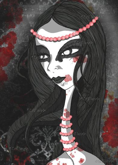 La fille aux perles