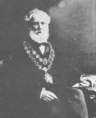 Alfred John Reynolds, Company Chairman, as Lord Mayor of Birmingham in 1905 (via K.Sprayson)