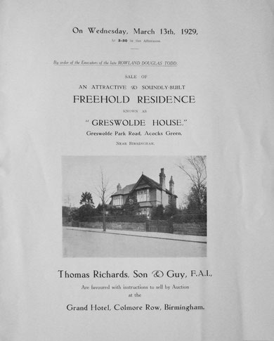 Sale Catalogue, page 1