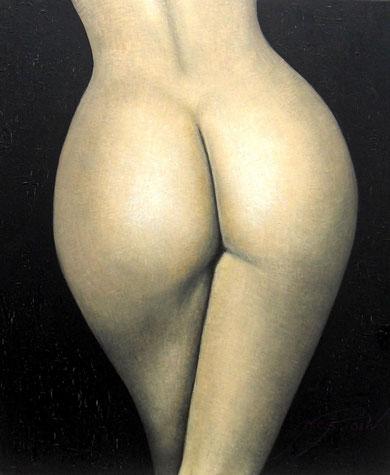 Desnudo espalda y trasero - 54 x 65 cm