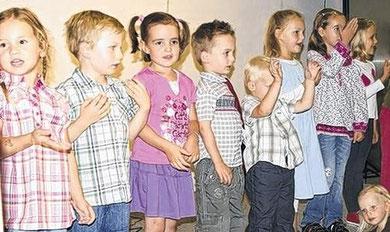 Kinderchor Westolino - Premiere 23. Juli 2010