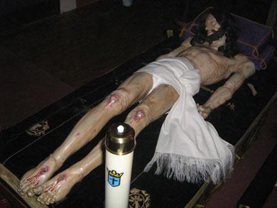 """Cristo Yacente, articulado para """"El Desnclavo"""""""