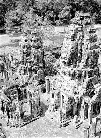 Templo Bayon, año 1952.