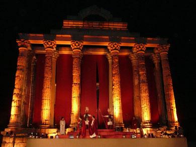 Pórtico del Templo de Diana. Mérida