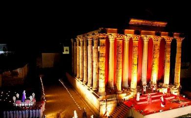 """""""El Juicio de Caifás"""". Templo de Diana. Mérida"""
