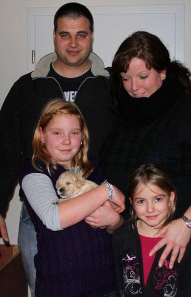 Familie Lorenz mit Emma