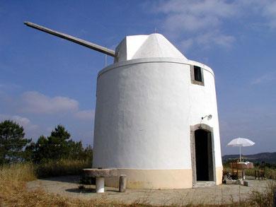 Outeiro dos Ventos, Ferienwohnung in einer alten Mühle im Alentejo