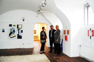 Inger & Håkan samt Inga efter pressvisningen