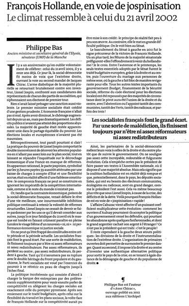 Le Monde, 17 avril 2013