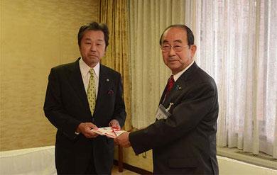 野坂米子市市長と大田社長