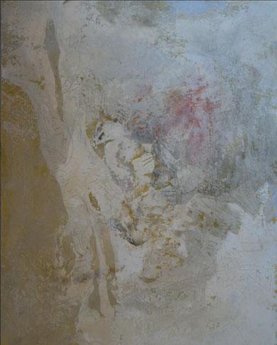 """""""RF3"""" technique mixte sur toile 81x100 cm"""