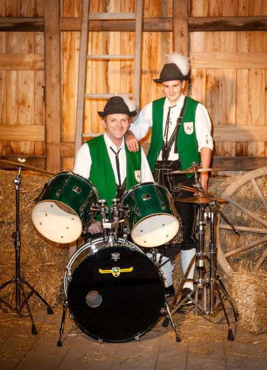 Schlagzeuger Gruppenbild