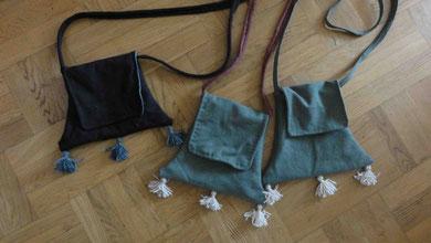 Fertige Pilgertaschen