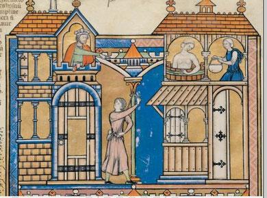 Maciejowski-Bibel: Folio  41v