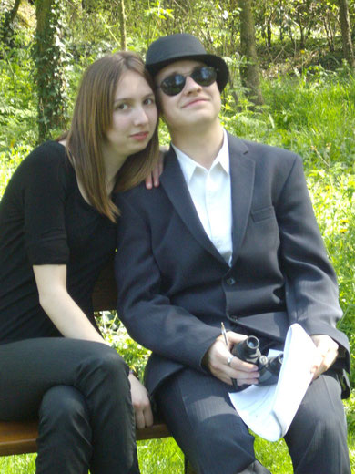 Deux espions, Agent Da et Agent Cier.