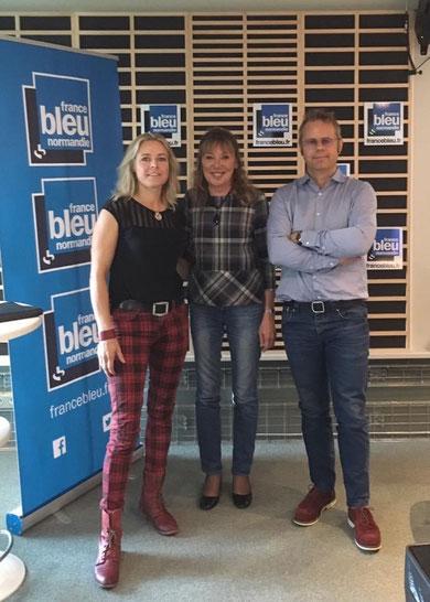 France bleu Les Patines d'Elise avec Annie Lefleouter et Fred Romanuik