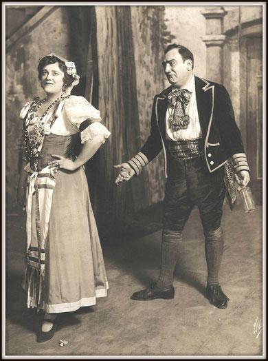Gaetano Donizetti L'ELISIR D'AMORE (Nemorino) con Frieda Hempel (Adina) - Metropolitan N.Y. 30.12.1916