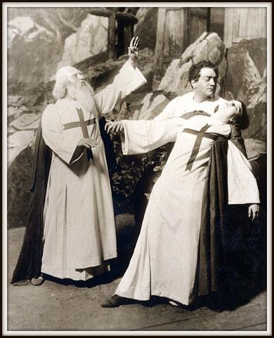 Giuseppe Verdi LA FORZA DEL DESTINO (Don Alvaro) con José Mardones e Rosa Ponselle - N.Y. Teatro Metropolitan 15.11.1918