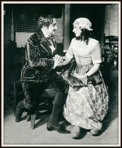Pietro Mascagni LODOLETTA (Flammen) con Geraldine Farrar - N.Y. 12.1.1918
